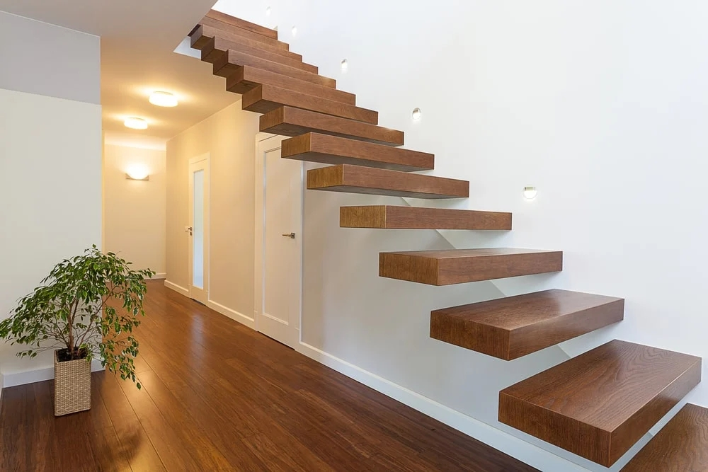 101 Staircase Design Ideas Photos | Steps Design In Hall | Duplex House | Style Indian | Concept | Beautiful | Front Main Entrance