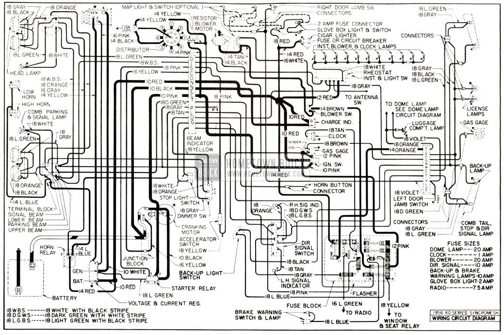 Buick Chassis Wiring Diagram Synchromesh Transmission