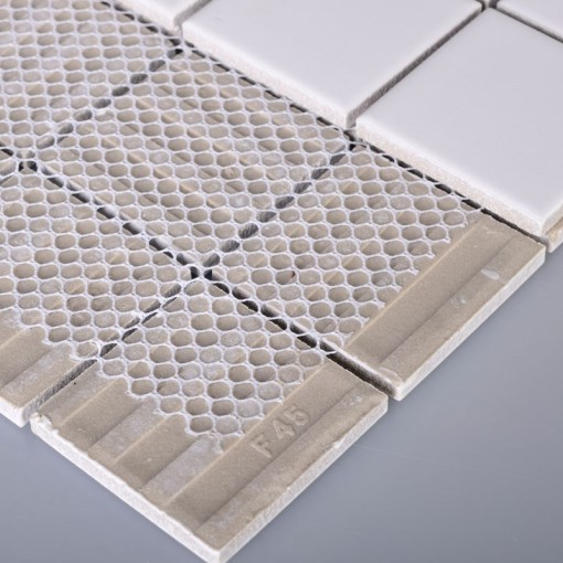 Wholesale Porcelain Floor Tile Mosaic White Square Brick Tiles         Porcelain Floor Tile Mosaic White Square Brick Tiles Kitchen Backsplash  Ideas Bathroom Wall Sticker