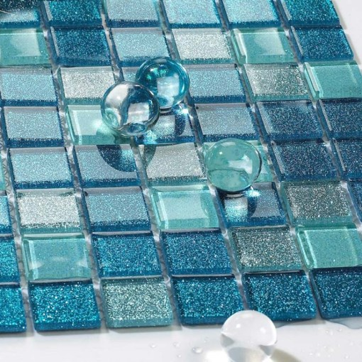 Bathroom Glass Floor Tiles  Glass Tile Bathroom Glass Floor Tiles     bathroom glass floor tiles  blue glass tile bathroom floor clear crystal  mosaic kitchen wall backsplash