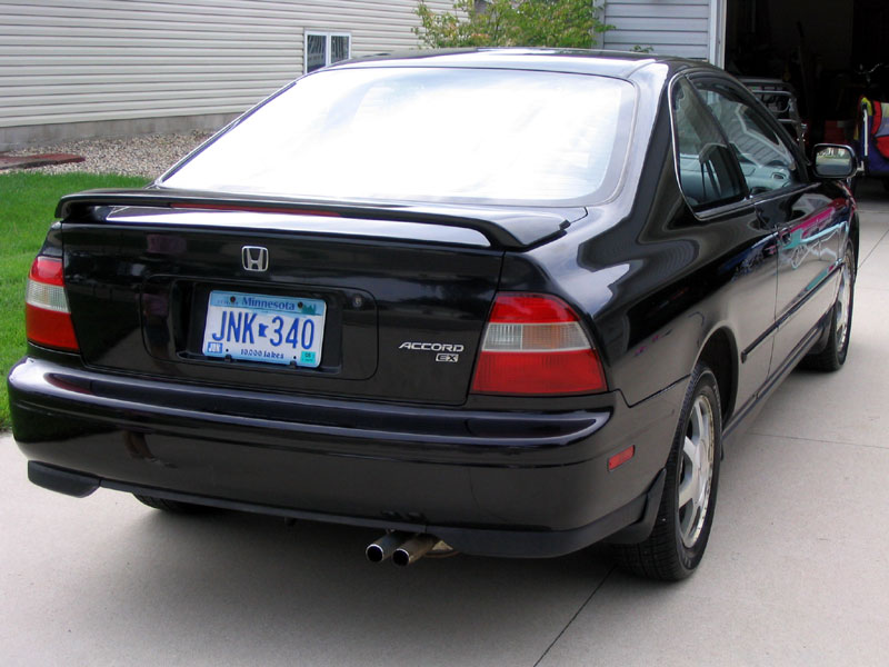 04 Honda Accord Coupe Spoiler