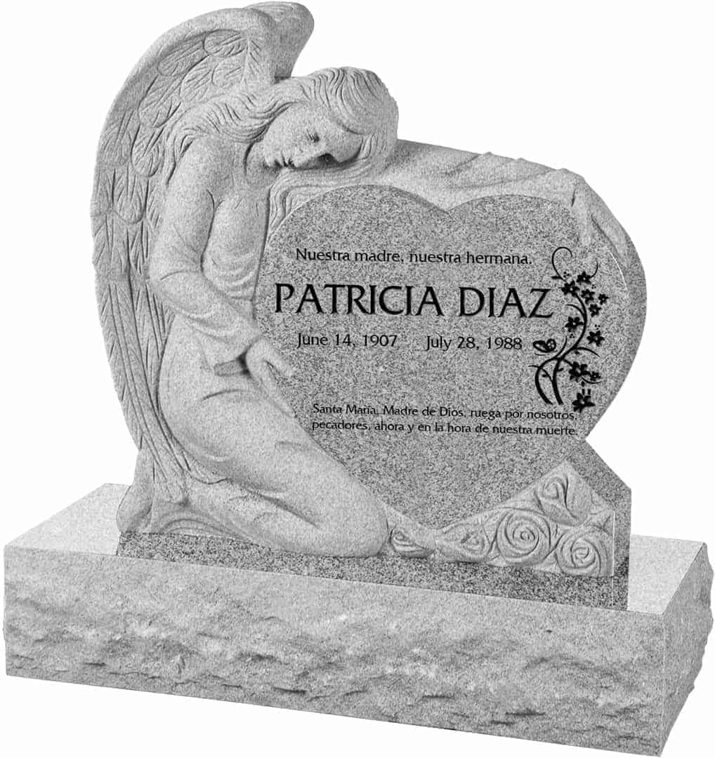 angel clipart for headstones - 636×675