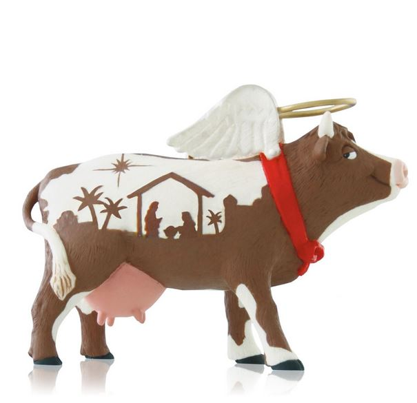 2014 Holy Cow Hallmark Ornament Hooked On Hallmark Ornaments