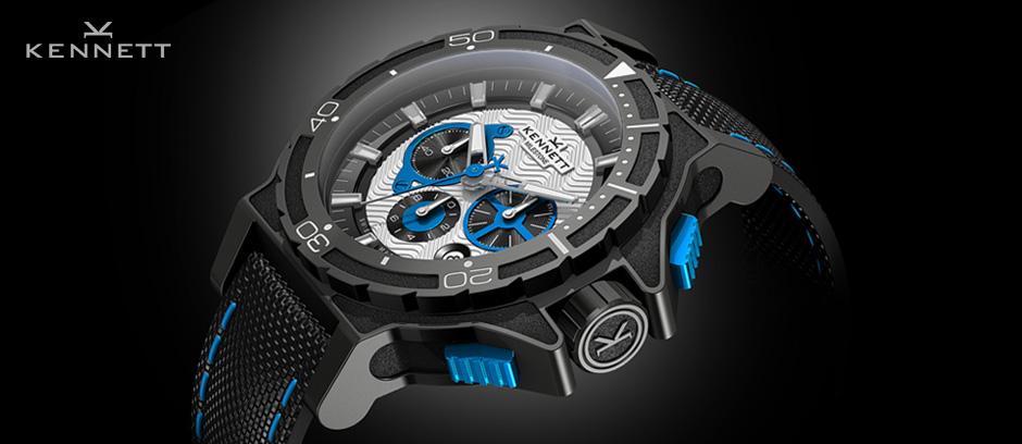 Swiss Made Diver Watch Design For Kennett