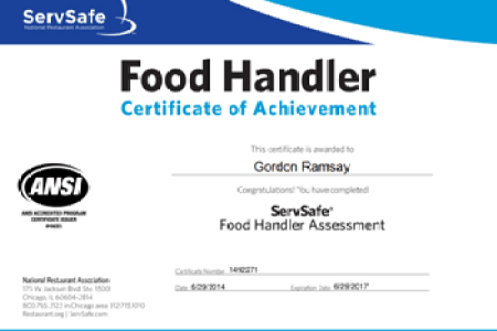 Servsafe certification test online free professional resume serve it up safe servsafe certification florida food safety training our low rates include everything you need the pre course study material the review fandeluxe Gallery