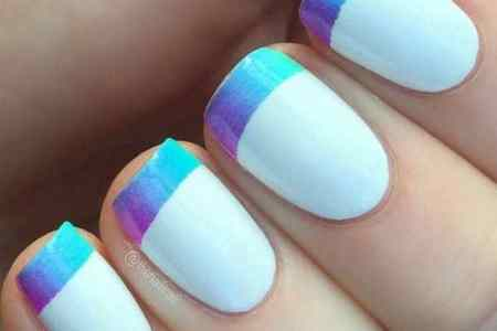 French Manicure Ombre Nails Edi Maps Full Hd Maps
