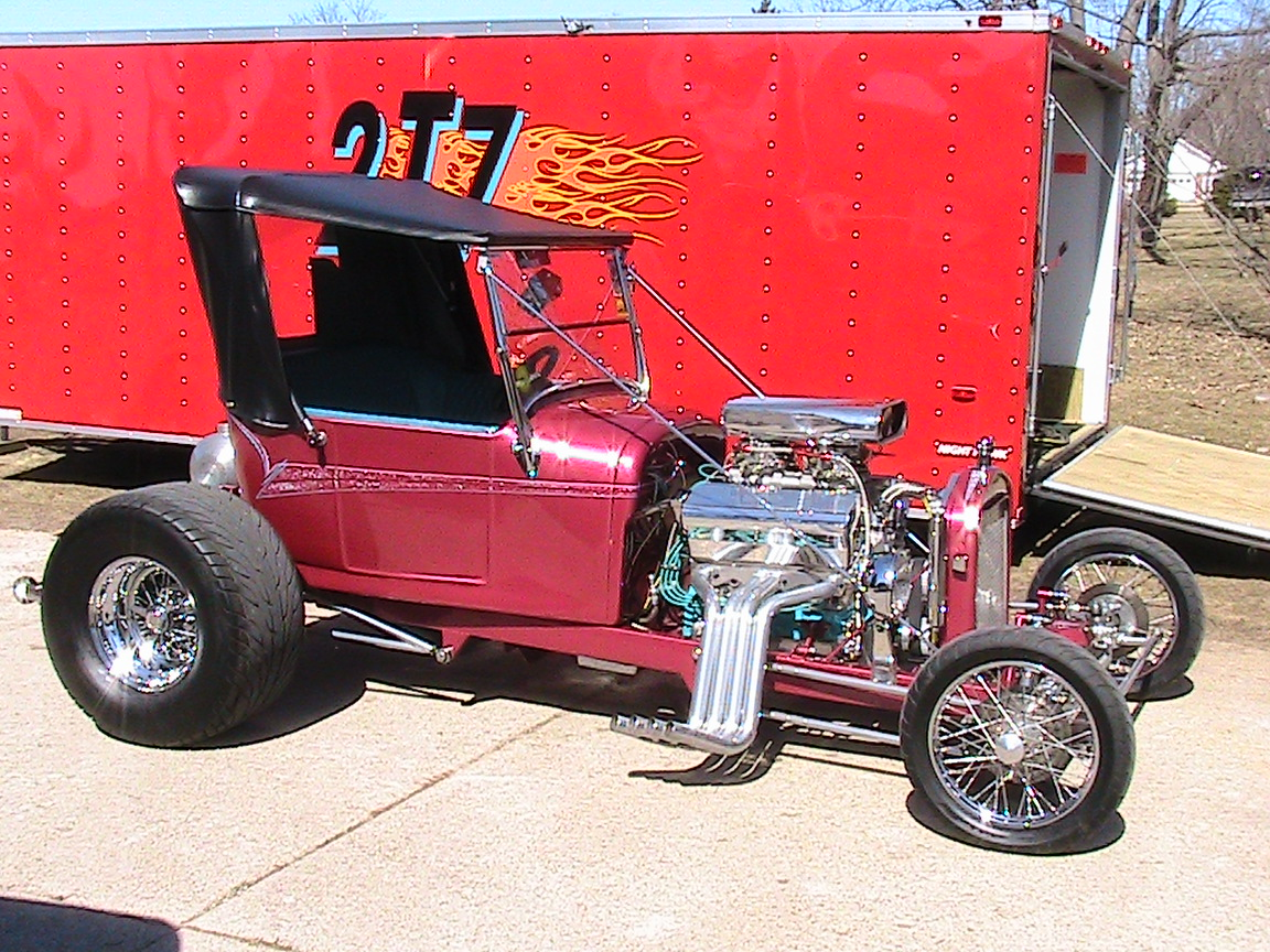 Turbo Ford 3 Bucket T 2