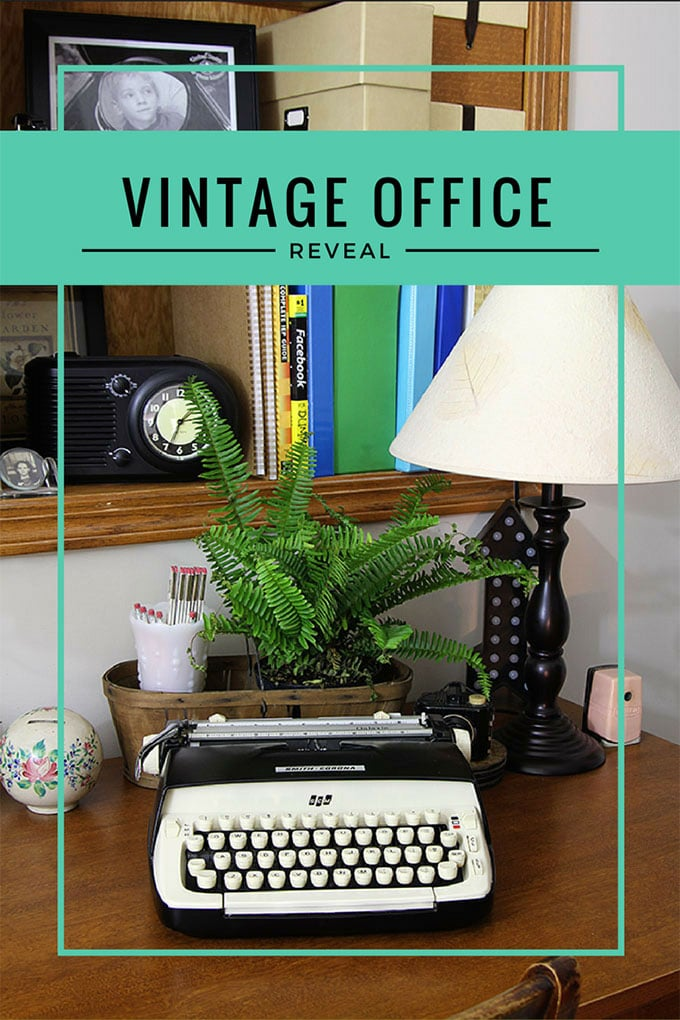 Vintage Home Office Decor