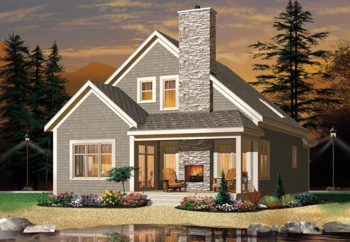 Narrow Lot Plan  1 742 Square Feet  2 3 Bedrooms  2 Bathrooms   034     photo