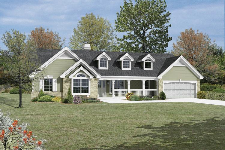 Traditional Plan  1 532 Square Feet  3 Bedrooms  2 Bathrooms   5633     photo