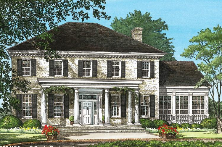Colonial Plan  3 920 Square Feet  4 Bedrooms  3 5 Bathrooms   7922 00037 photo