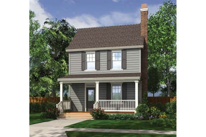 Colonial Style Plans Floor Plans Collection | Center Staircase House Plans | Georgian House | Spiral | Split | Room | Contemporary