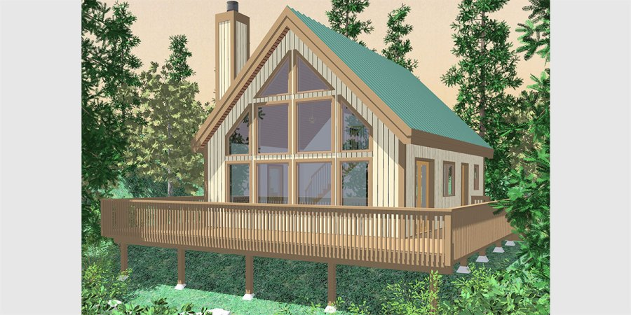 A frame House Plans With Steep Rooflines 10036 fb Small A Frame house plans  house plans with great room