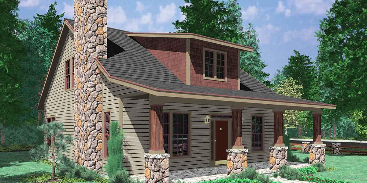 Bungalow House Plans  1 5 Story House Plans Bungalow House Plans  Large Porch House Plans  1 5 Story House Plans  House  Plans with Dormer Windows