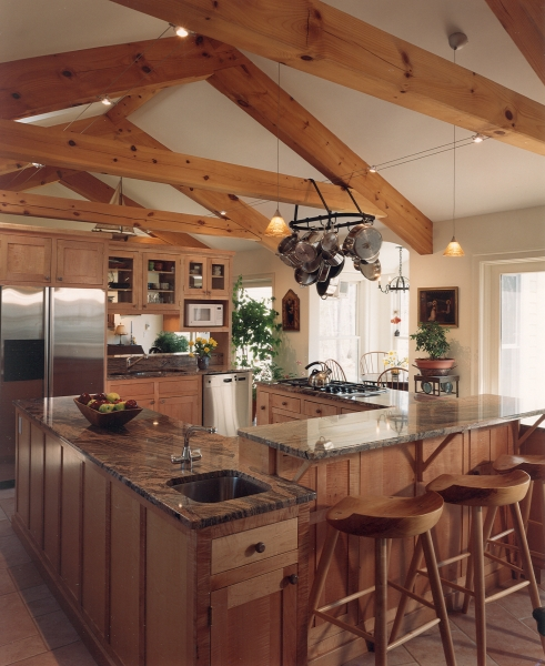 Houses And Barns Post And Beam Classic Home