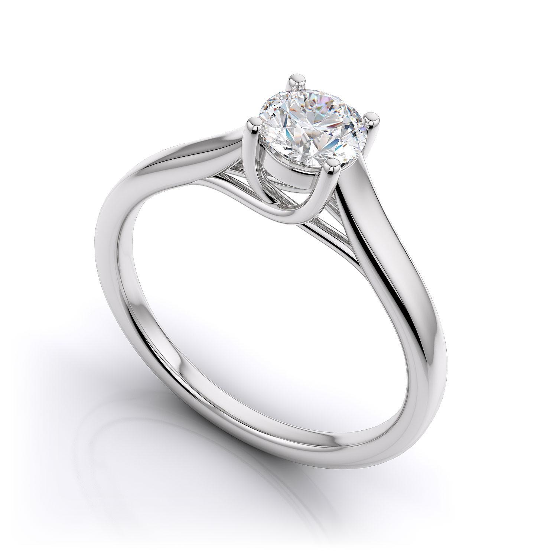 Fancy Yellow Diamond Anniversary Ring