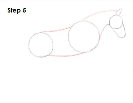 How to Draw a Horse Jumping Draw a Horse Jumping 5