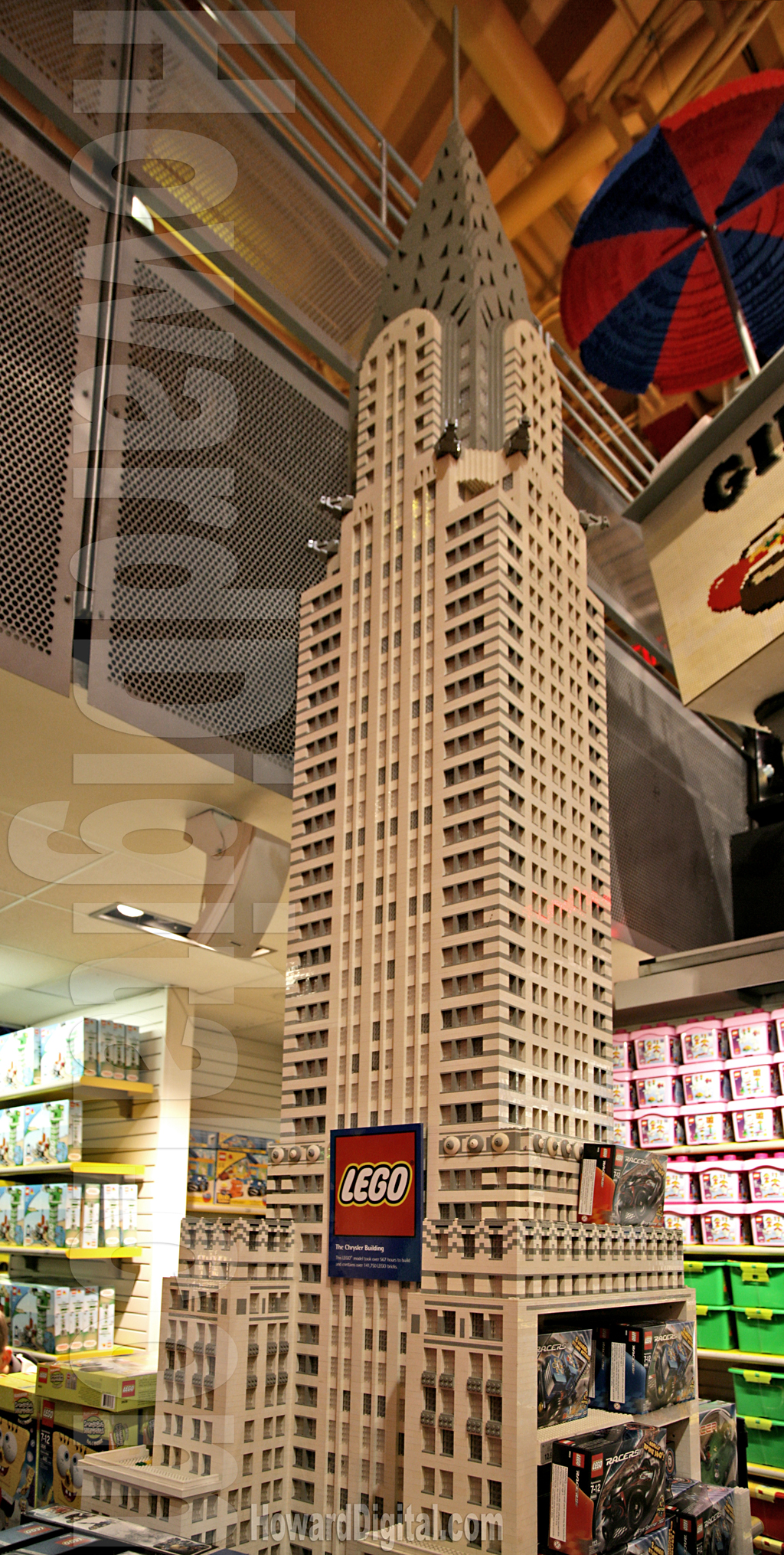 Chrysler Lego Building   Legos Store Photography   Howard Digital Chrysler Lego Building