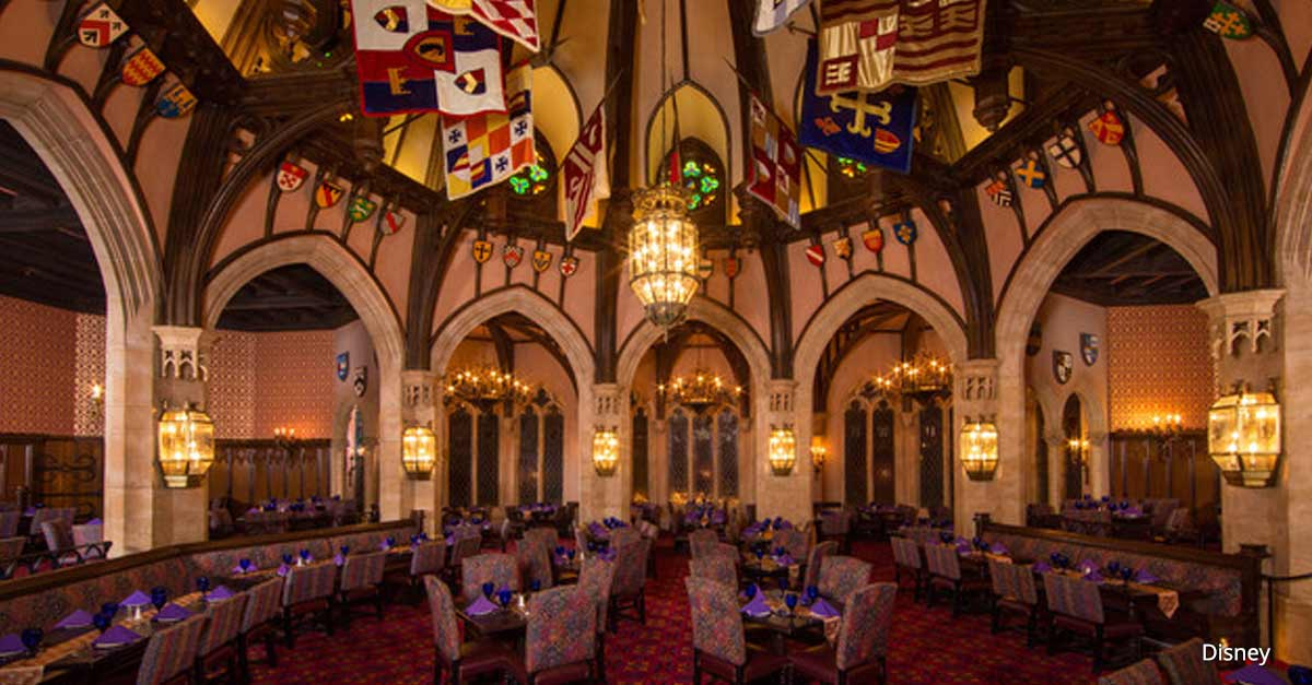 Cinderellas Castle Disney World Dining Room