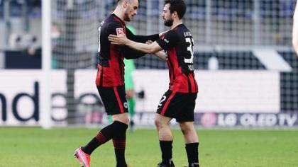 Eintracht Frankfurt: Younes' bang and its complicated penalties |  hessenschau.de