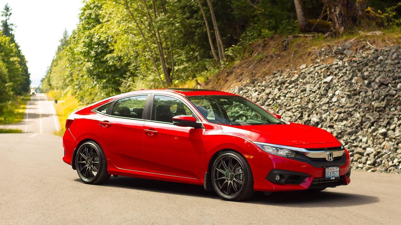 2017 Honda Civic Sedan Ex T H Amp R Special Springs Lp