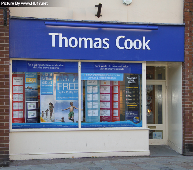 Thomas Cook Travel Agents