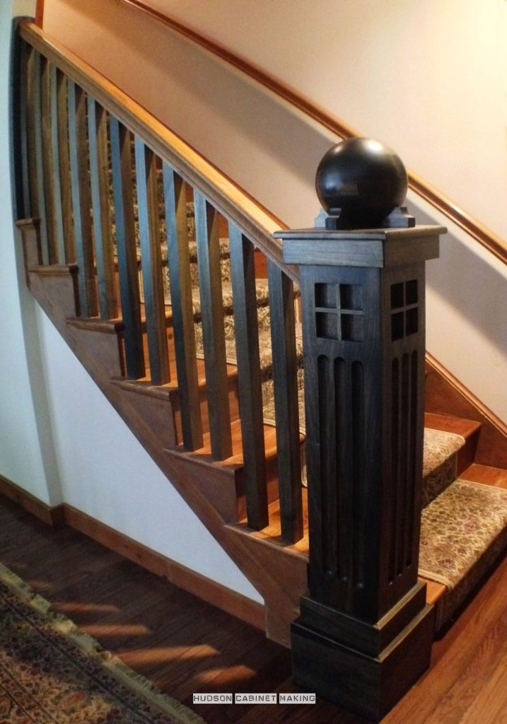 Wooden Staircase Designs | Mission Style Hand Railings | Indoor | Bungalow | Front Porch | Art Craft | Hand