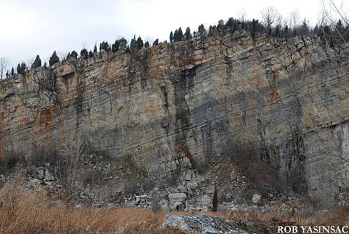 Hudson Valley Ruins New York Trap Rock Industrial Ruins