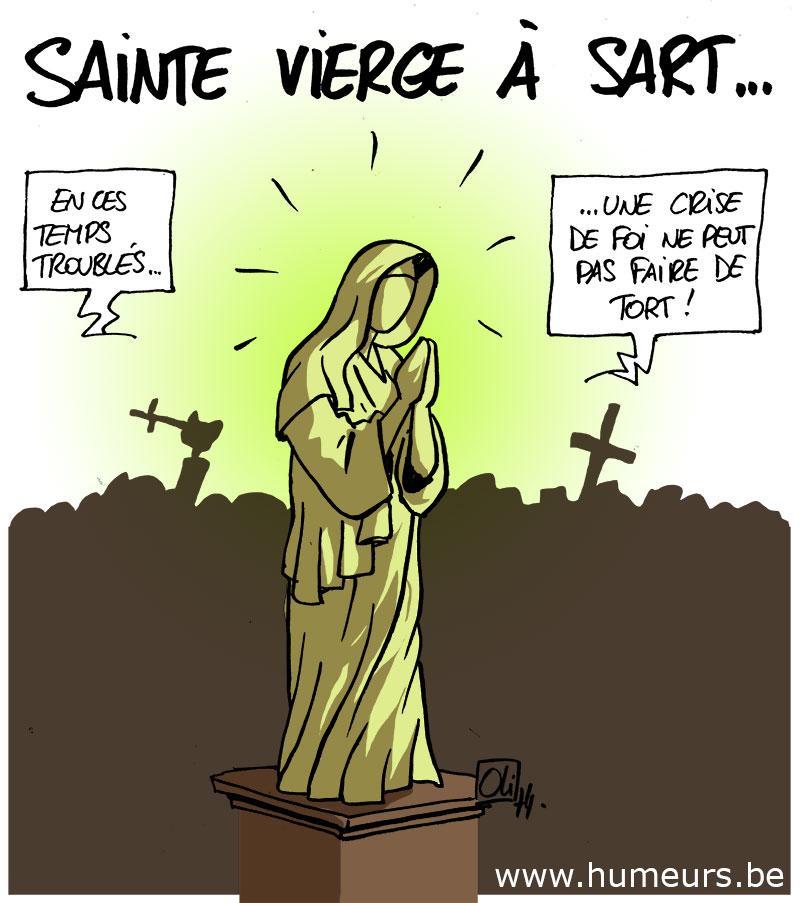En Vierge La Dessin Marie