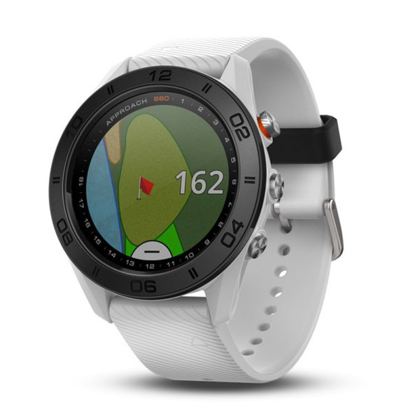 Garmin Approach S60 White GPS Watch   Golf GPS and Rangefinders     Garmin Approach S60 White GPS Watch   Golf GPS and Rangefinders   Hurricane  Golf