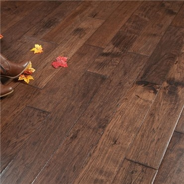 5 X 3 4 Hickory Hand Scraped Prefinished Solid Old West Hurst | Prefinished Hickory Stair Treads And Risers | Hand Scraped | Stairtek | Retread | Hickory Natural | Unfinished