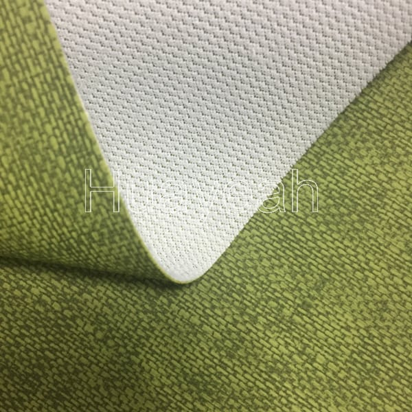 Leather And Fabric Sofa