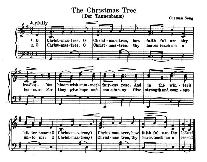 Oh Christmas Tree Piano