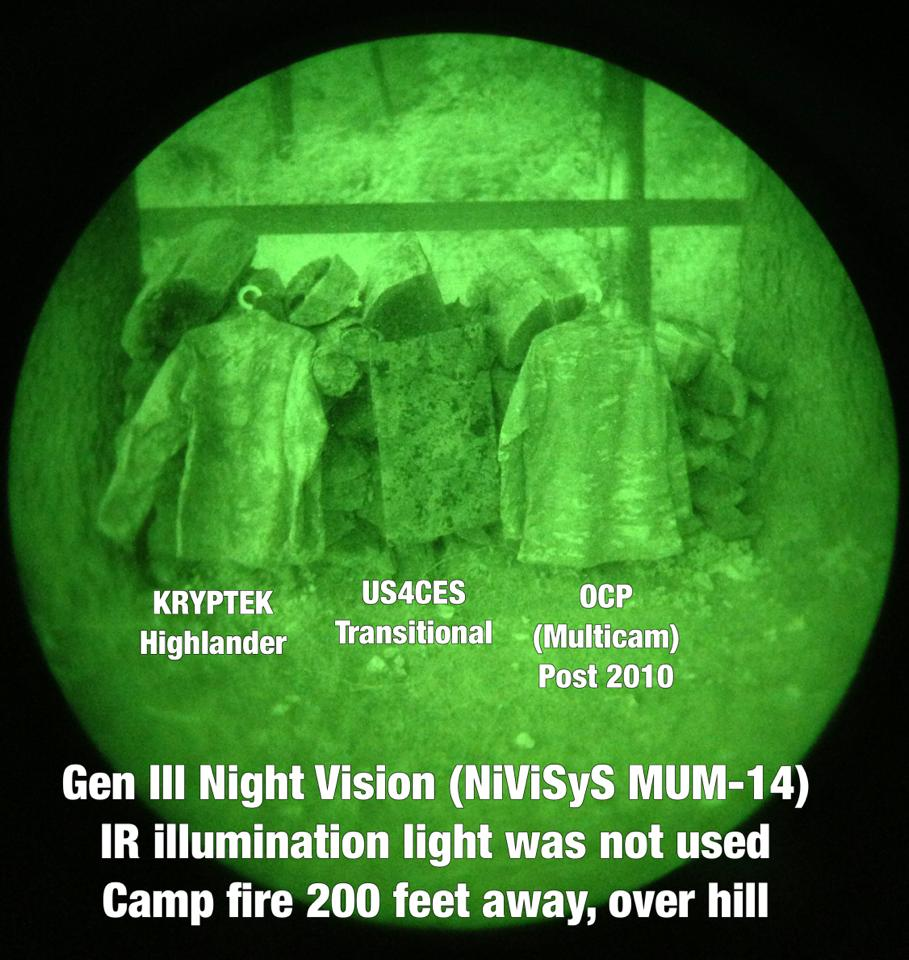 Night Vision Device Comparison Photos Of Us4ces And Some