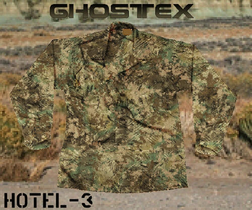 Ghostex Camouflage Patterns A Joint Venture Of
