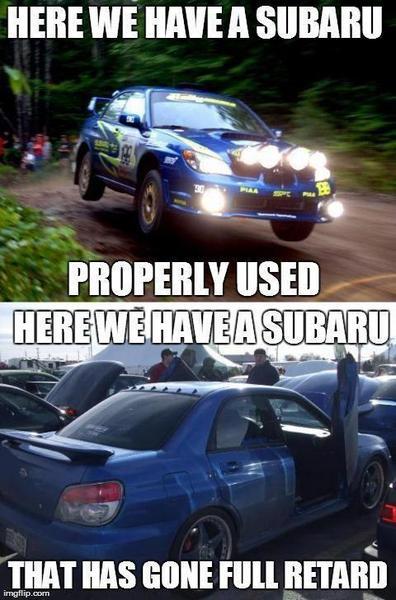 The Subaru Meme Thread I Club The Ultimate Subaru Resource