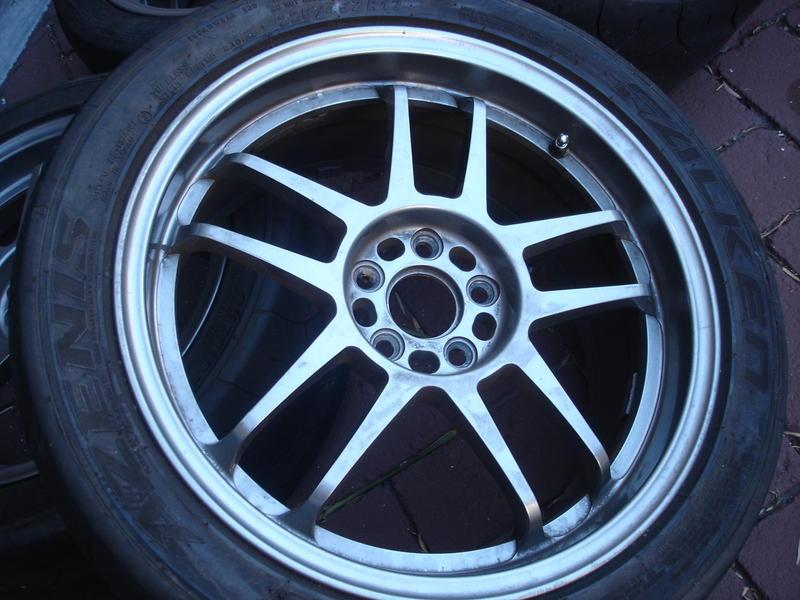 17x8 Rota Subzero Wheels Gunmetal 48offset 5x100 I Club