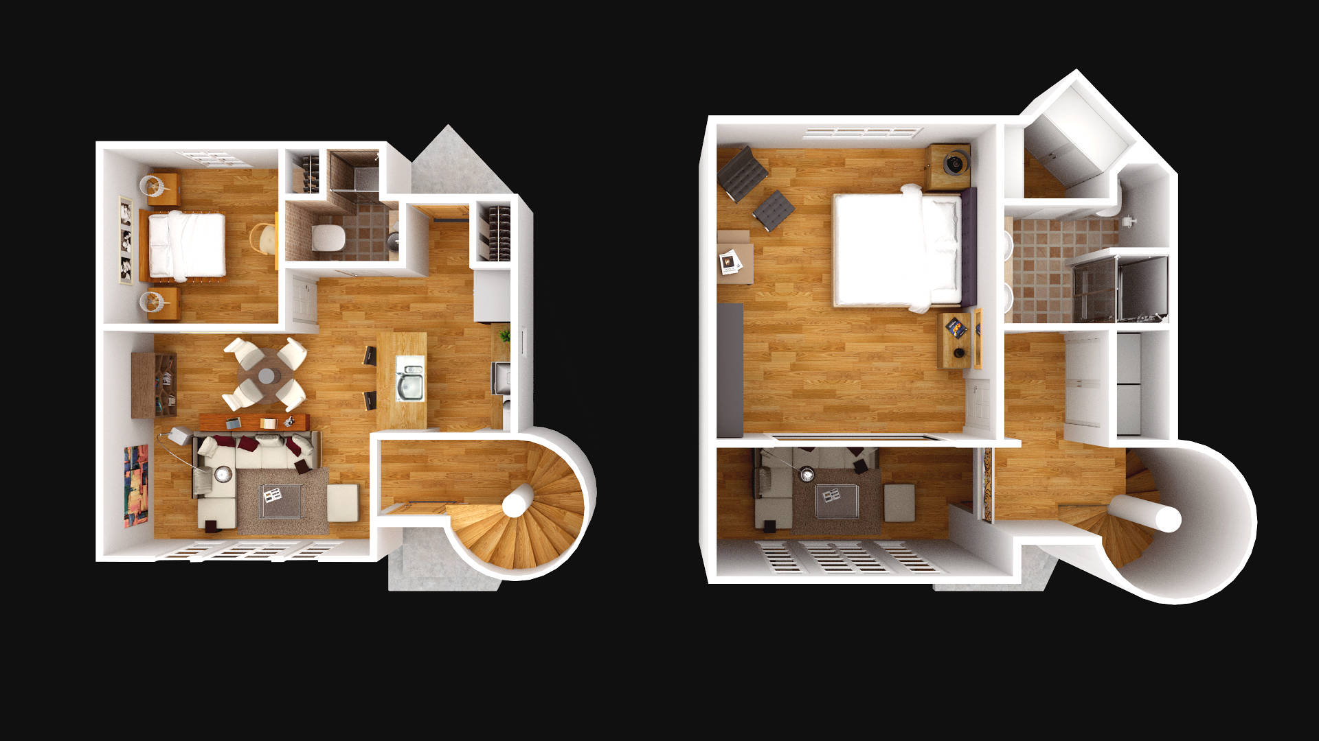 Floor Plan One Story House