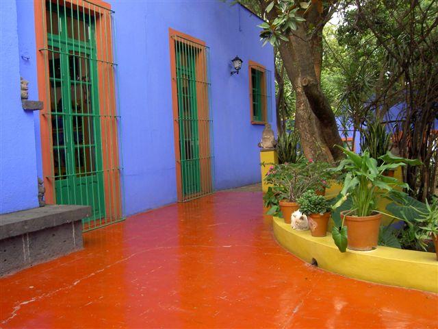 House Frida Mexico Kahlo City