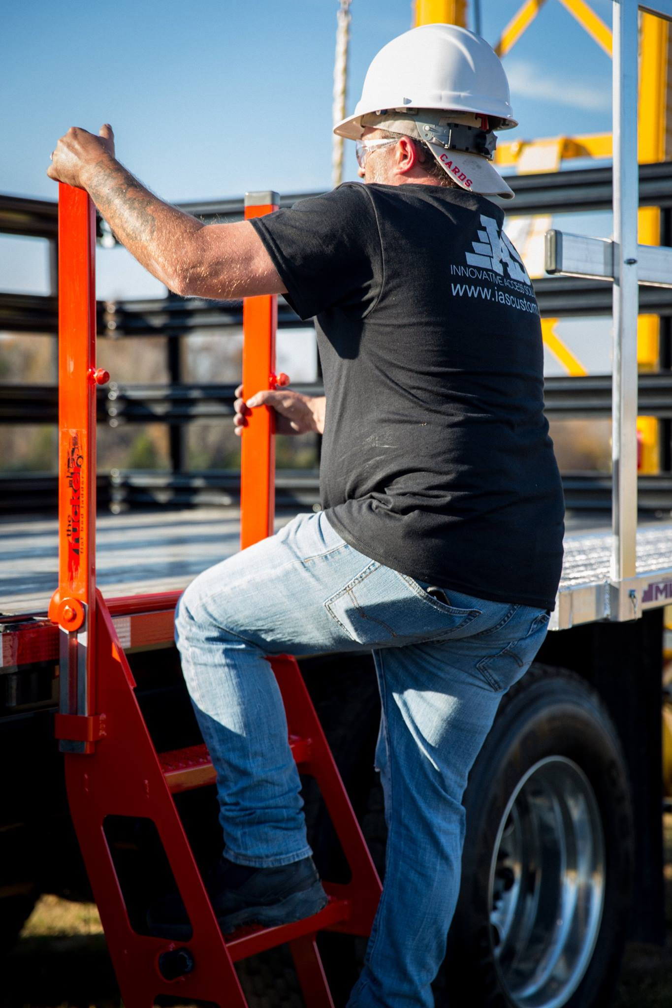 Trucker I Ladder Flatbed Trailer Fall Protection Safety