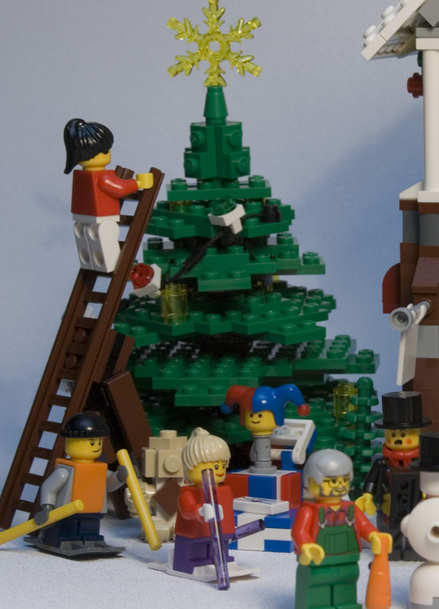 Lego 10199 Winter Village Toy Shop I Brick City