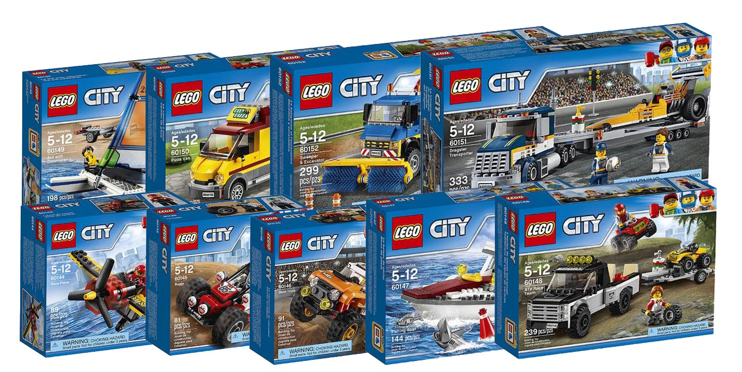 Lego City 2017     More New Sets   i Brick City     lego city 2017 60144 60145 60146 60147 60148