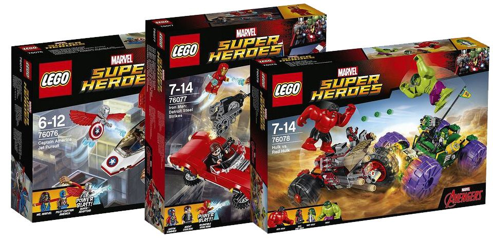 Lego 2017 Marvel Super Heroes Pictures   i Brick City     lego marvel super heroes 76076 76077 76078