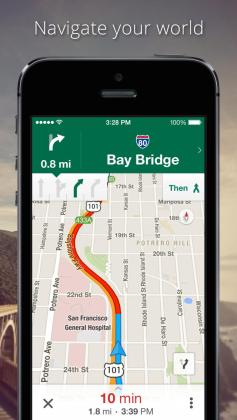 Google Maps App Gets Optimized for iOS 8   iClarified Google Maps App Gets Optimized for iOS 8
