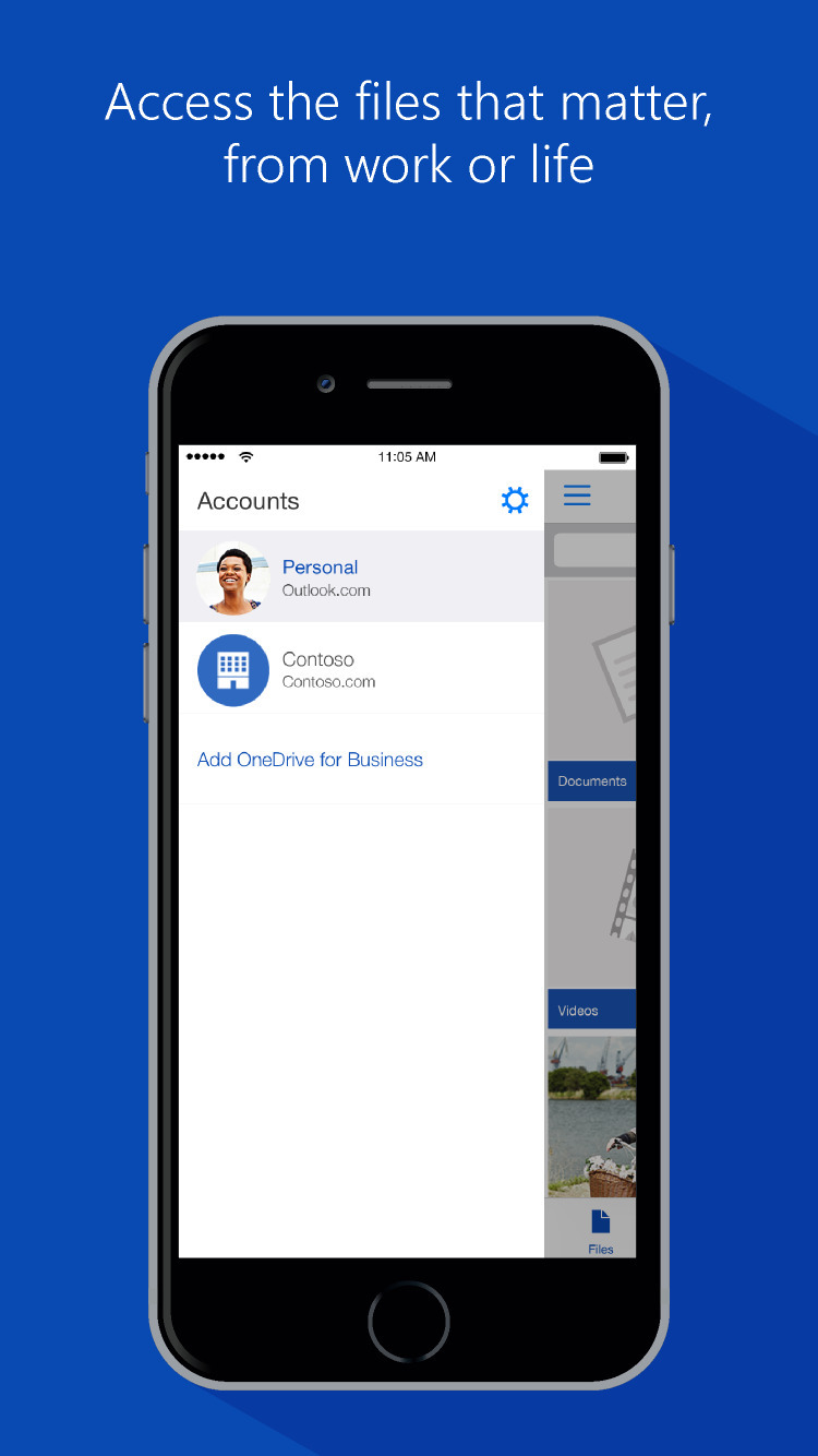 Onedrive App Gets 3d Touch Quick Shortcuts Scoped Folder