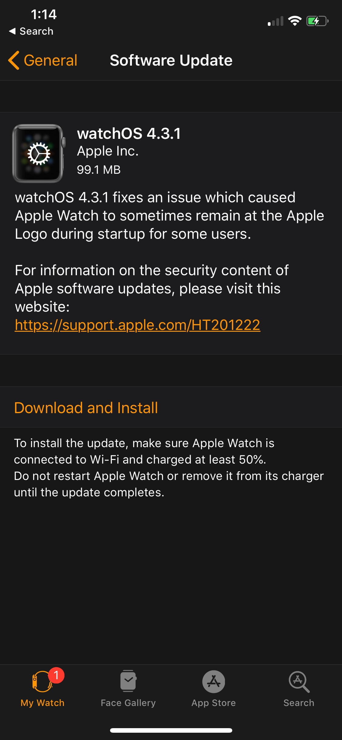 Apple Releases watchOS 4 3 1 to Fix Startup Issue  Download     Apple Releases watchOS 4 3 1 to Fix Startup Issue  Download