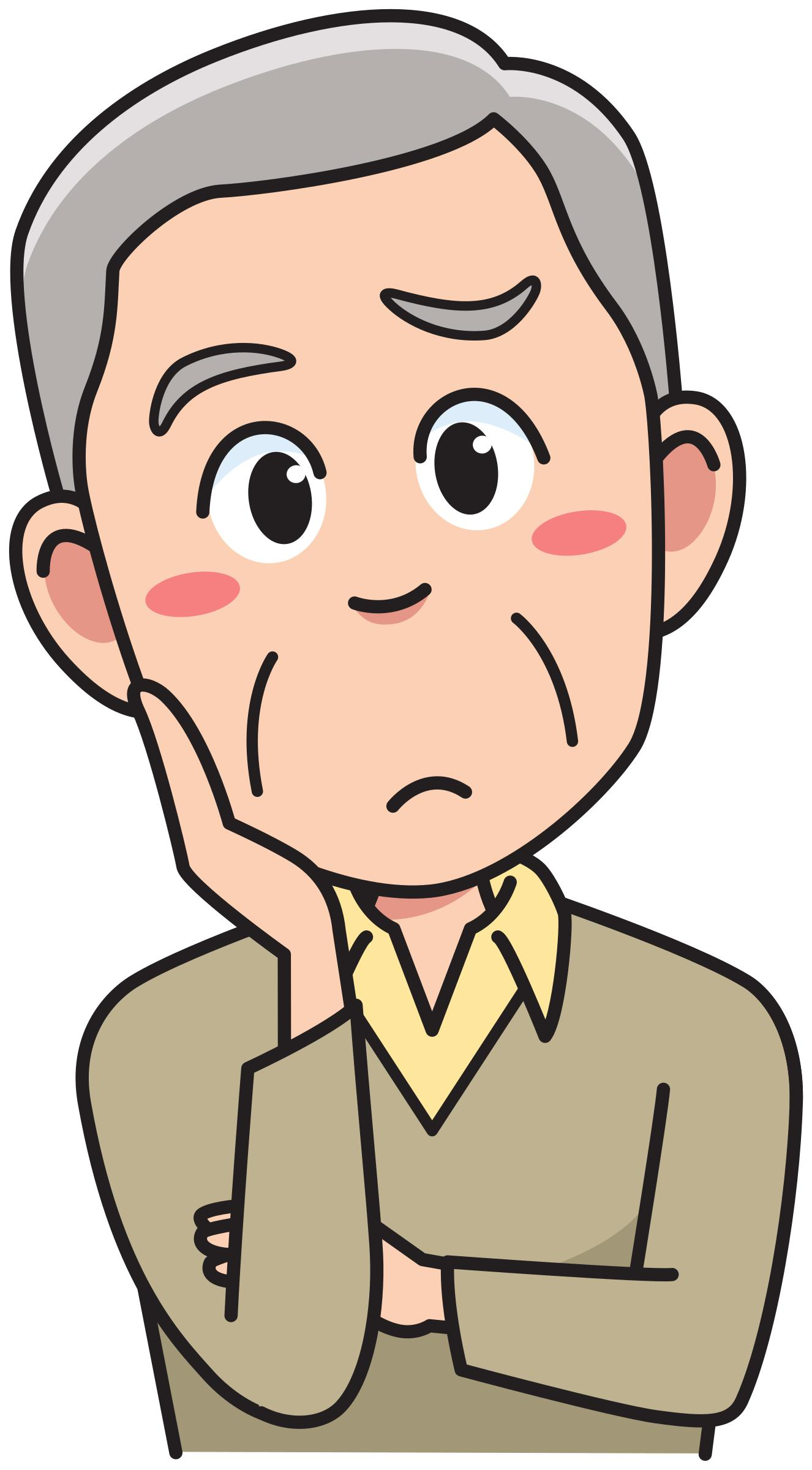 Find Clip Art Thinking Person