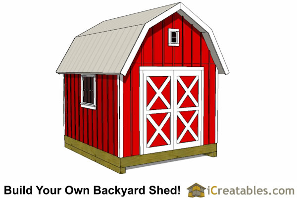 12x16 Shed Floor Layout