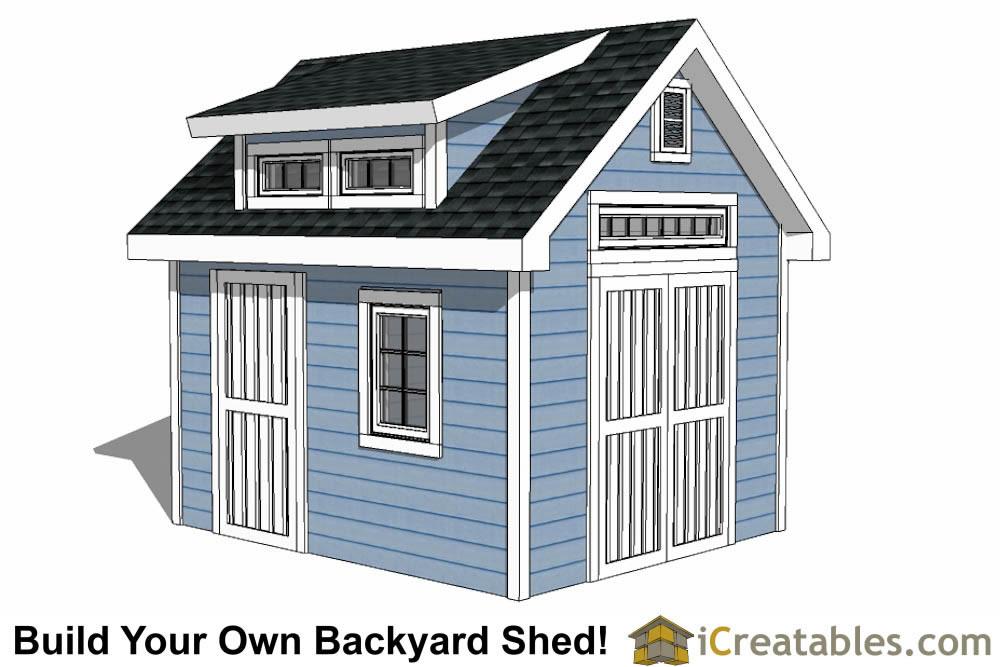 Storage Shed Blueprints