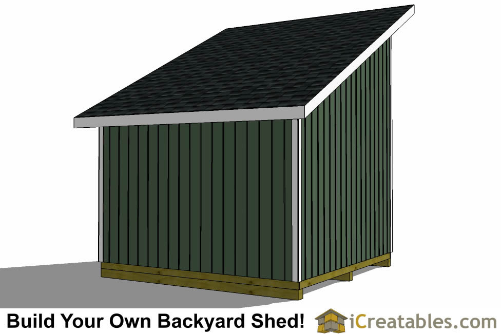 12x12 Lean To Shed Plans 12x12 Storage Shed Plans